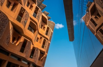 The buildings of Masdar City