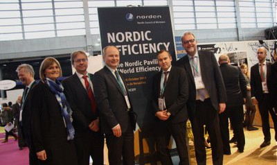 The Nordic Council of Ministers also participated at the pre-COP21 event World Efficiency in October, with a strong focus on energy efficiency.